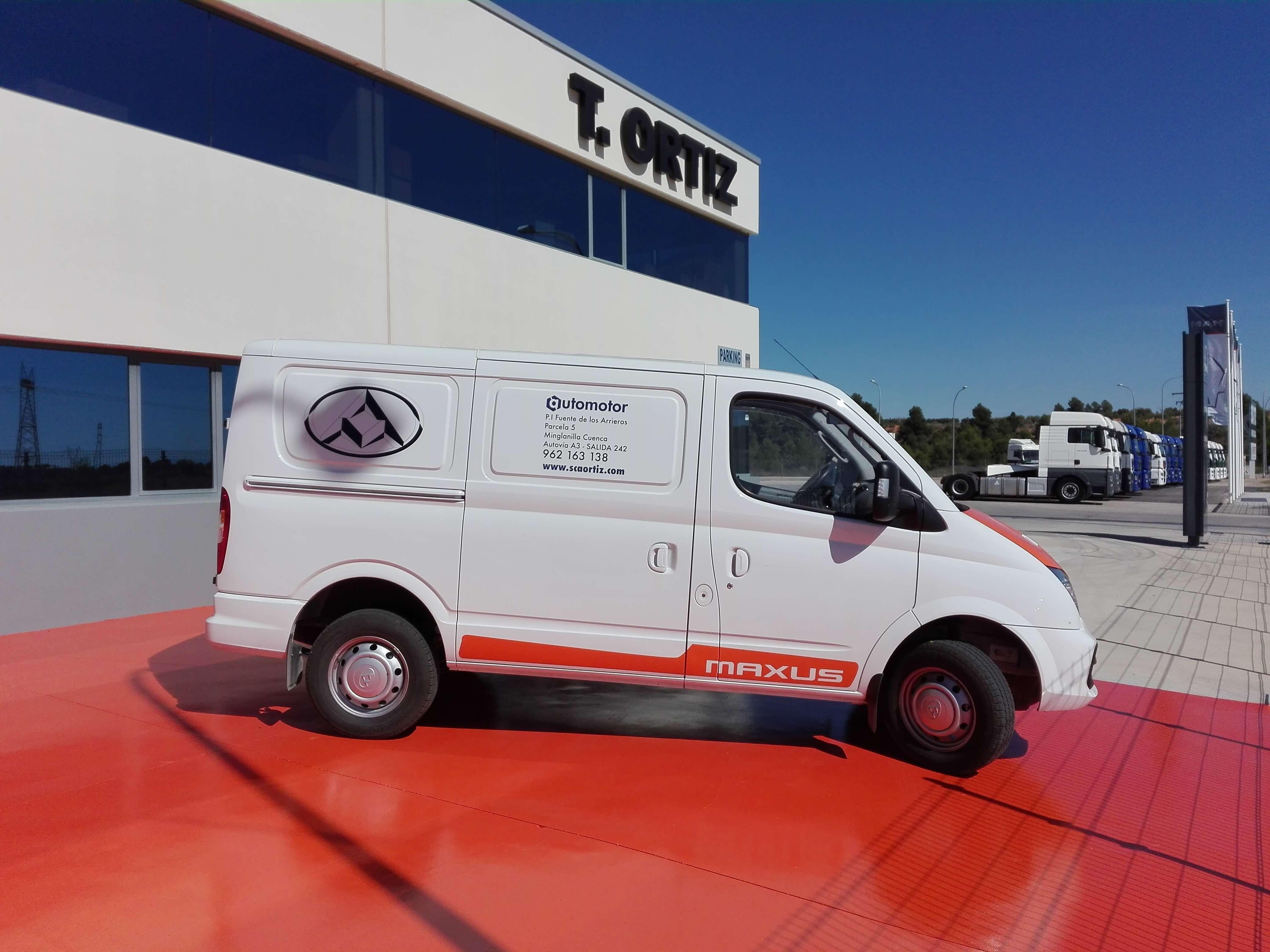 En Automotor puedes conocer y probar las furgonetas Maxus